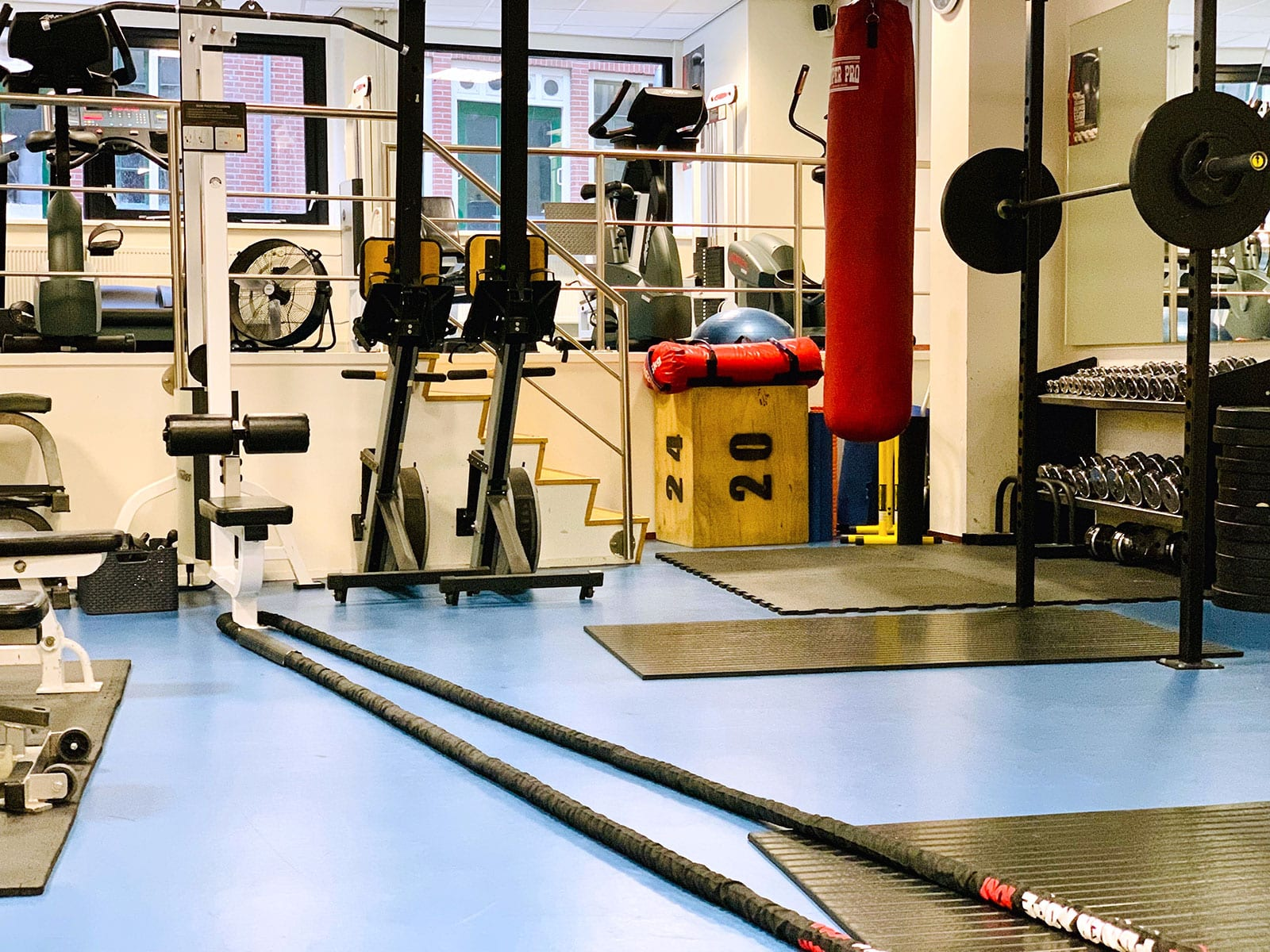 Je traint in een privé gym bij Personal Trainer Amsterdam Ricardo Egido